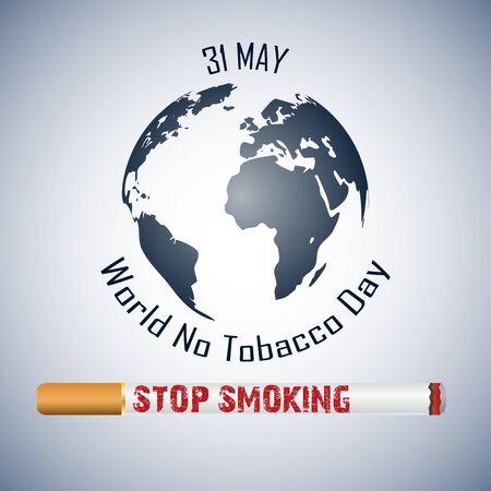 世界没有烟草日背景