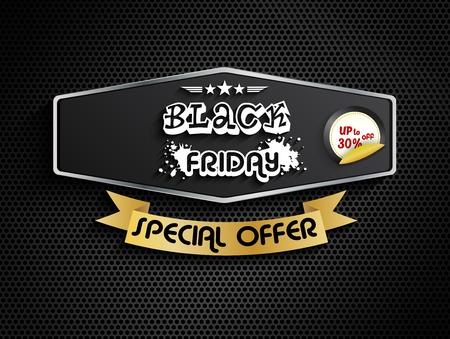 black: Black friday special offer