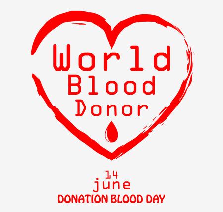 donor: World blood donor day Stock Photo