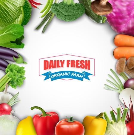 veggie: Healthy food vegetable background