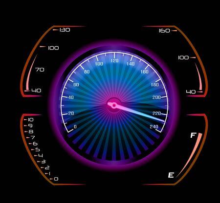 mode of transport: Speedometer