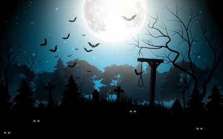 party background: Halloween party scary background