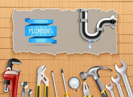 Construction repair tools set Stock Photo