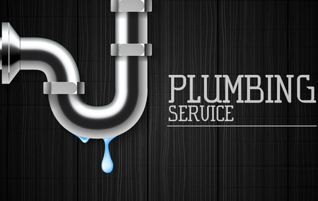 Vector illustration of Plumbing service