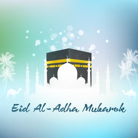 Hajj Kaaba and Mosque Eid adha islamic