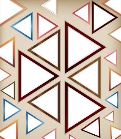 Vector illustration of Abstract triangle background 向量圖像