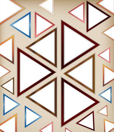 Abstract triangle background 版權商用圖片