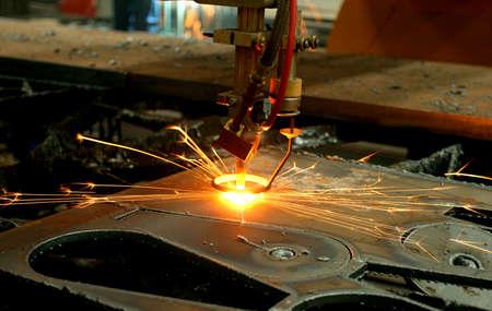 Metal iron steel precision cutting machine industry
