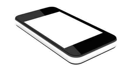 Smartphone Isolated on white background Stock Photo - 14473690