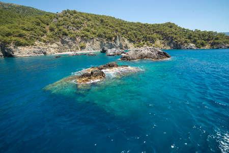 nicholas: beautiful water view, Turkey island of St. Nicholas