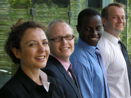 A strong team Stock Photo - 8109808