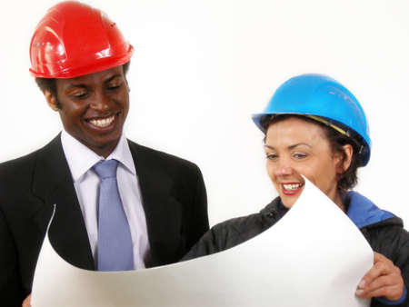 construction manager and architect photo
