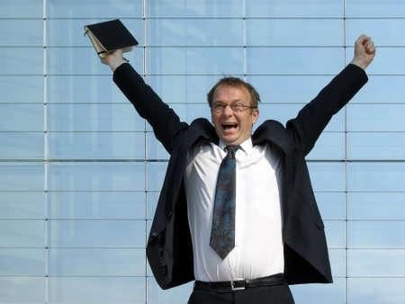 successful business man photo