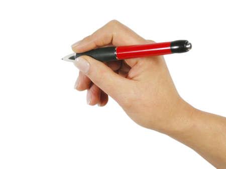 Writing photo