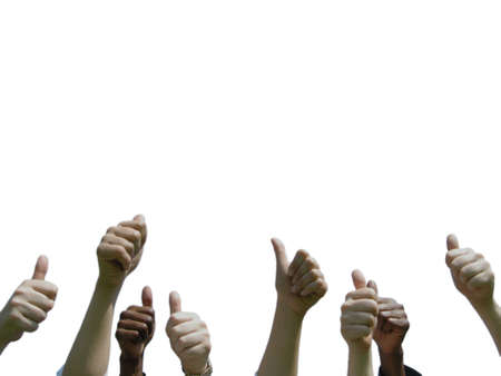daumen hoch: Thumbs up