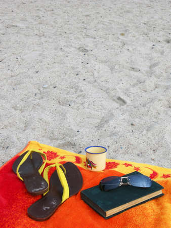 Still life on the beach photo