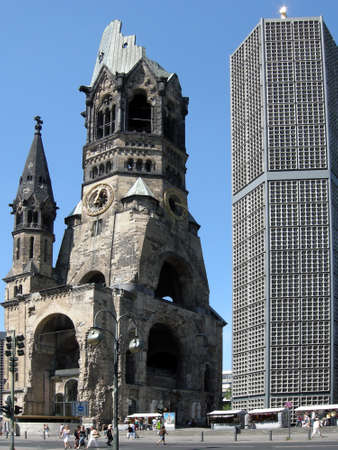 Kaiser-Wilhelm Memorial Church in Berlin, Germany