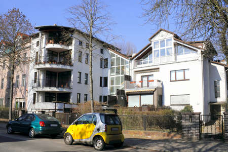 Modern housing estate in Berlin, Germany Stock Photo - 11128195