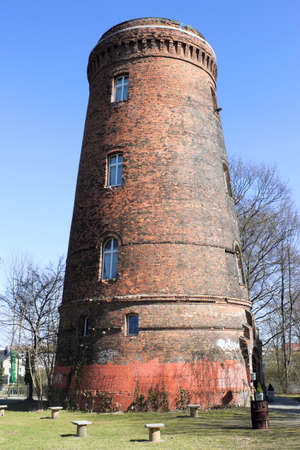 the water tower: Water Tower in Berlin, Germany