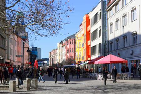 spring break: Spandauer Old Town Editorial