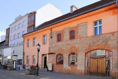 spandau: Gothic House in Berlin Spandau Editorial