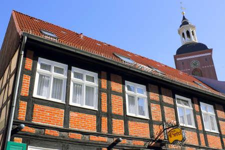spandau: Hotel and church