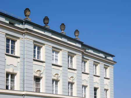 rehabilitated people: Potsdam Town House
