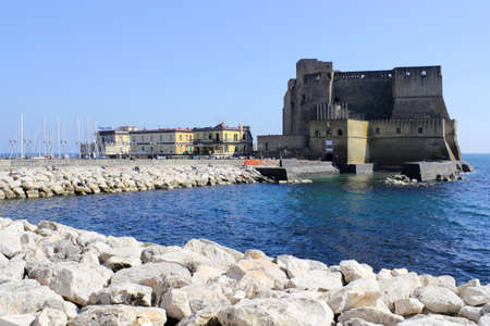 Castello d Ovo in Naples, Italy photo