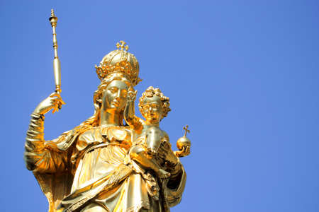Statue of Our Lady in Munich photo