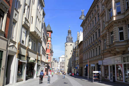 mietshaus: Halle Leipziger Street, Germany