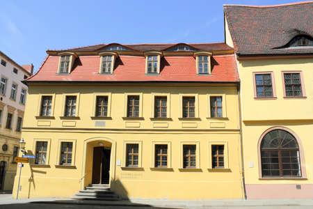 Haendel-House, Birthplace of Johann Friedrich Haendel in Halle (Saale), Germany