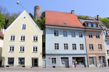 Old town of Landsberg on the Lech Stock Photo - 11250382