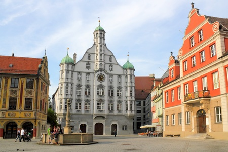 rehabilitated: Memmingen Old Market Square, Germany