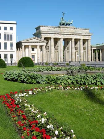 Brandenburg Gate in Berlin, Germany Stock Photo - 11255592