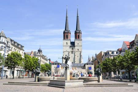Halle Hall Market in Sachsen-Anhalt photo