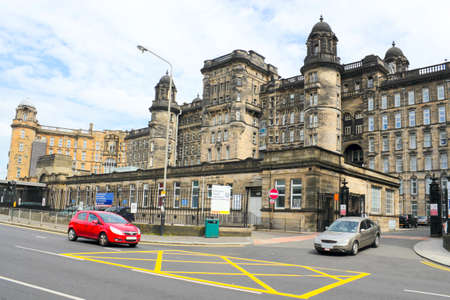 Historic Glasgow hospital photo