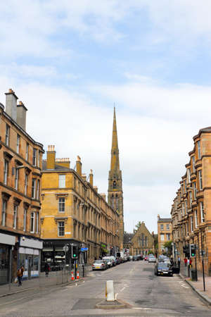 Old City of Glasgow, UK photo