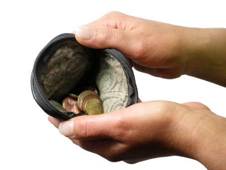 impoverished: No money