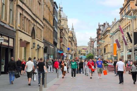 Glasgow in Scotland Buchanan Street
