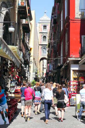 San Gregorio Armeno in Naples, Italy
