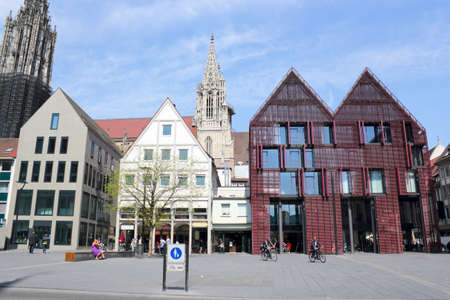 Ulm in Bavaria, Germany