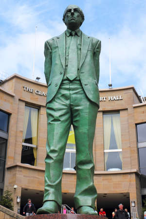 Donald Dewar statue Stock Photo - 11433390