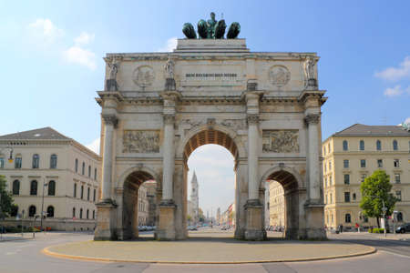 Victory Gate in Munich