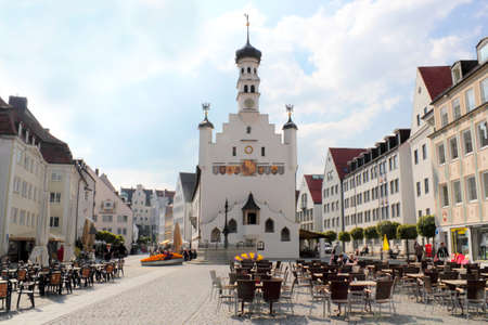 gabled: Town hall square of Kempten