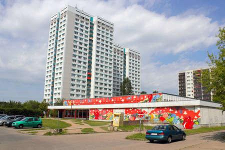 prefabricated buildings: Prefab distrito de Marzahn en Berl�n