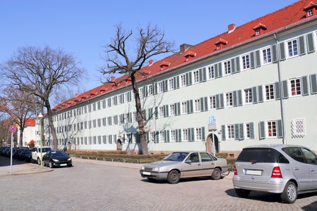 heritage protection: Living monument Siemensstadt Stock Photo