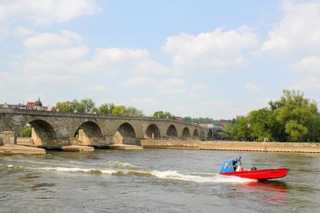 heritage protection: Stone Bridge, Regensburg