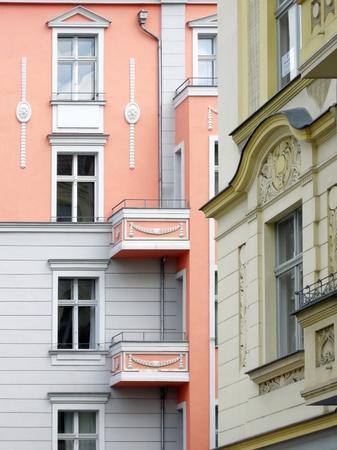 prenzlauerberg: Old building facades