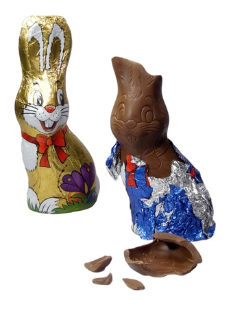 wit konijn: Easter Bunny