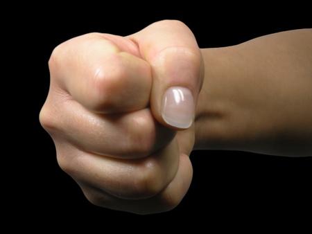 aggressiveness: Aggressiveness Stock Photo